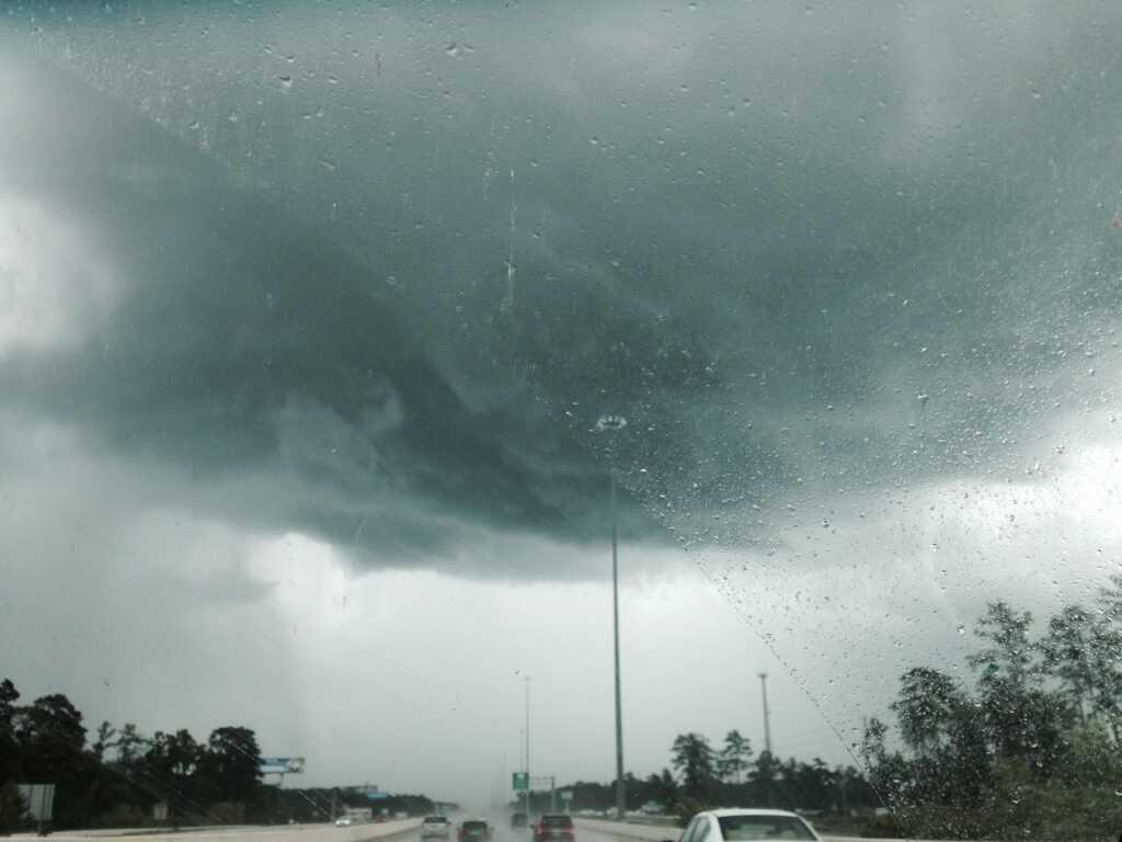 Rain storm... Houston,TX